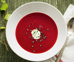Rødbetesuppe