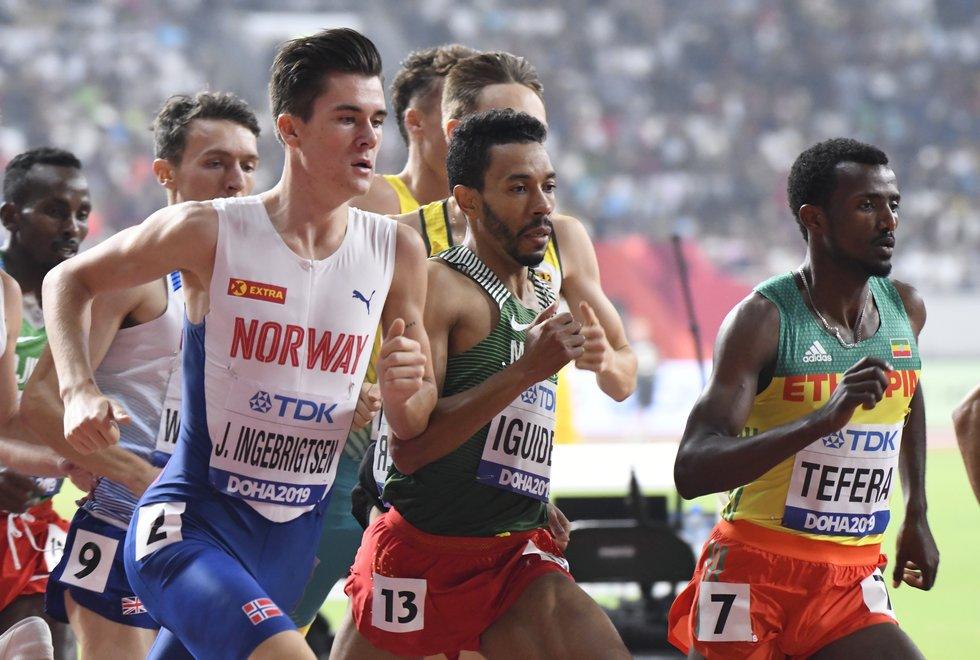 VM friidrett 2019 Doha - jakob ingebrigtsen - semifinale 1500 m
