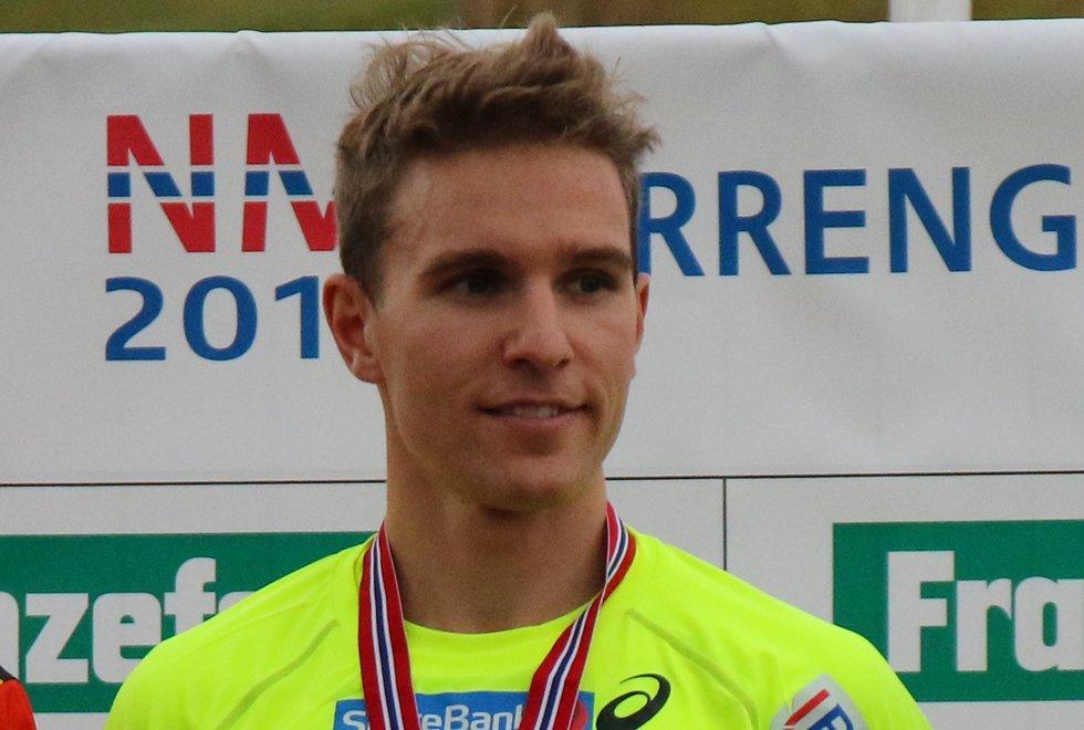 Didrik Tønseth NM terrengløp lang løype Bratsberg 2018