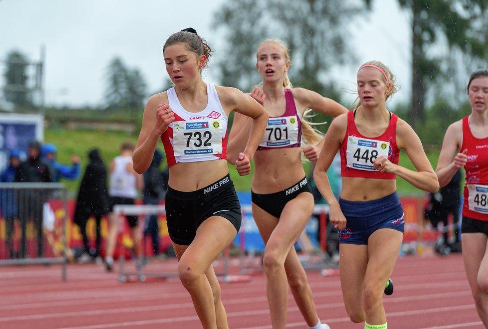 UM friidrett 2019 Jessheim - 800m J-15
