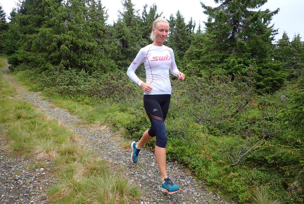 Kjersti Ervik på løpesamling for Kondis på Ilsetra august 2020