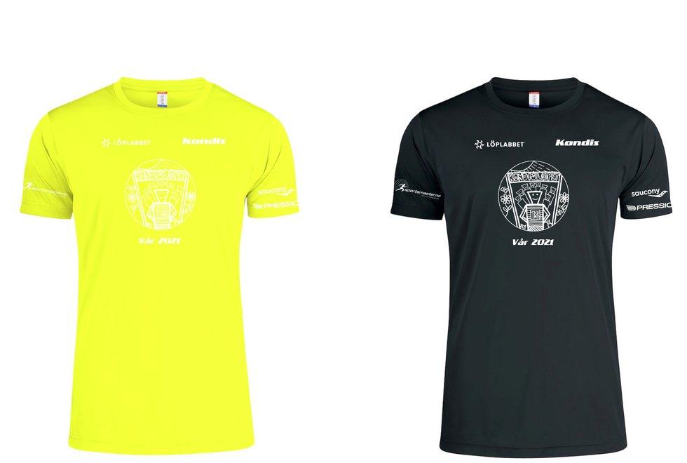 T-skjorter Kondisløpet vår 2021
