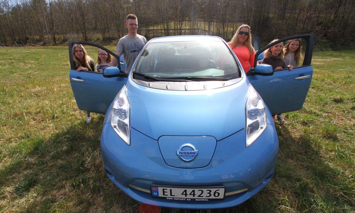 Stadig flere husholdninger har bare elbil
