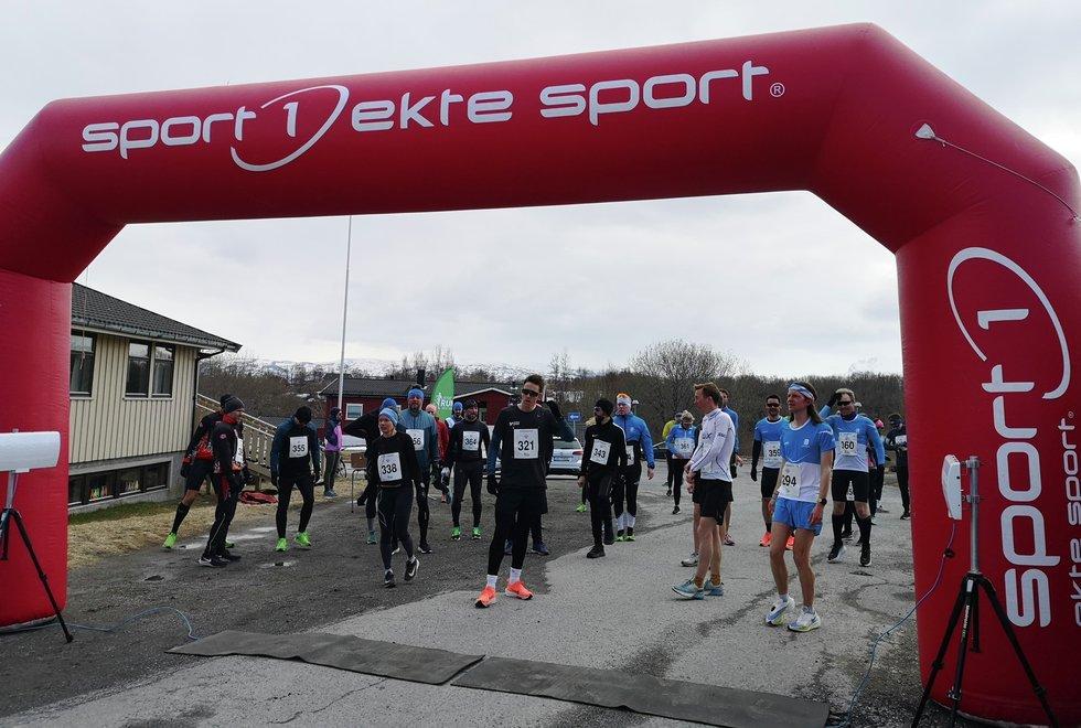 Startfelt Bodø Spring Run 2021
