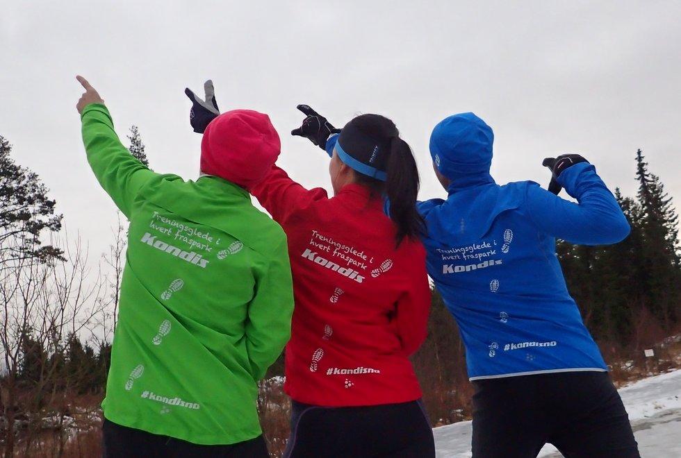 3 løpere mot Trondheim Maraton 2018