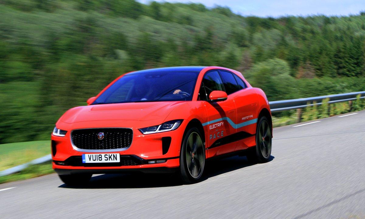 Prøvekjørt: En hyggelig time med Jaguar I-Pace