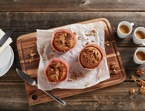 Grove frokostmuffins - en herlig start på dagen.