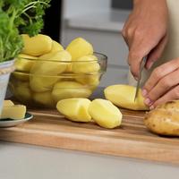 Skjæring av poteter