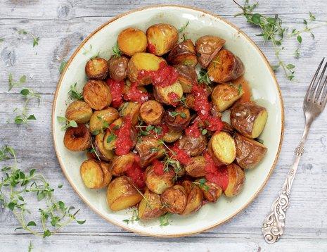 Patatas bravas - spanske tapaspoteter