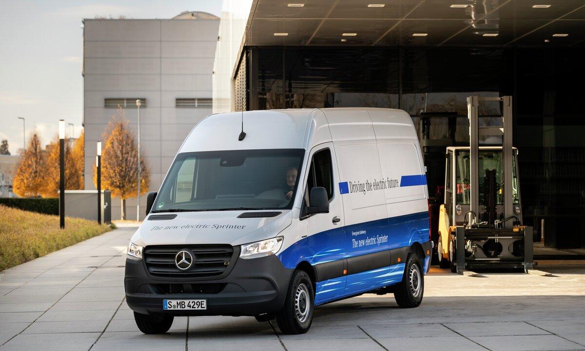 Mercedes-Benz eSprinter: Konkurrenten til VW e-Crafter og Maxus EV 80