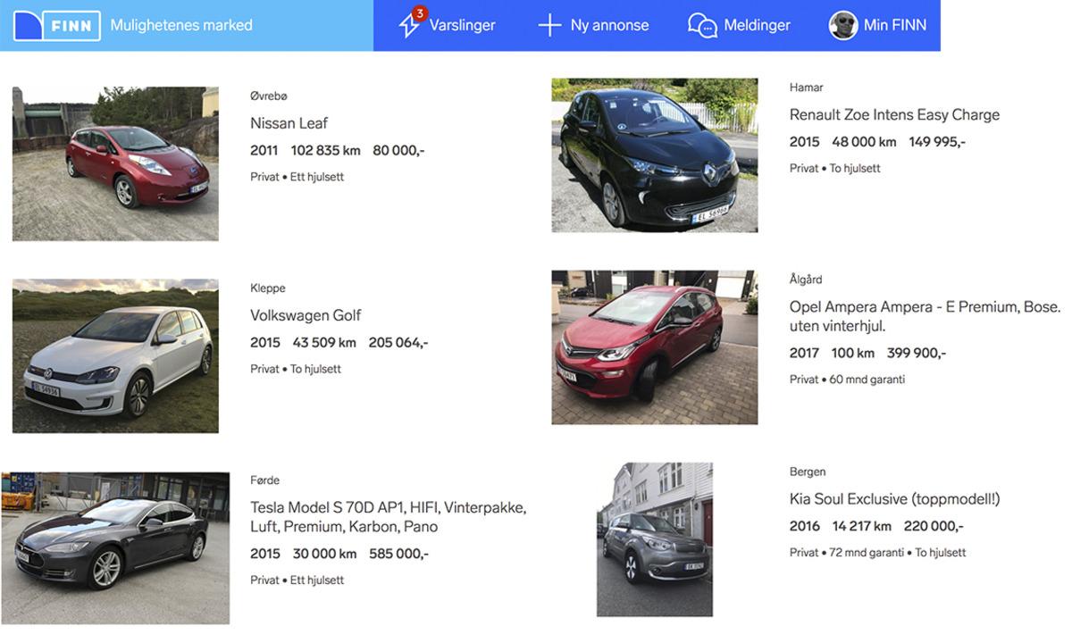 Kjøpe brukt elbil
