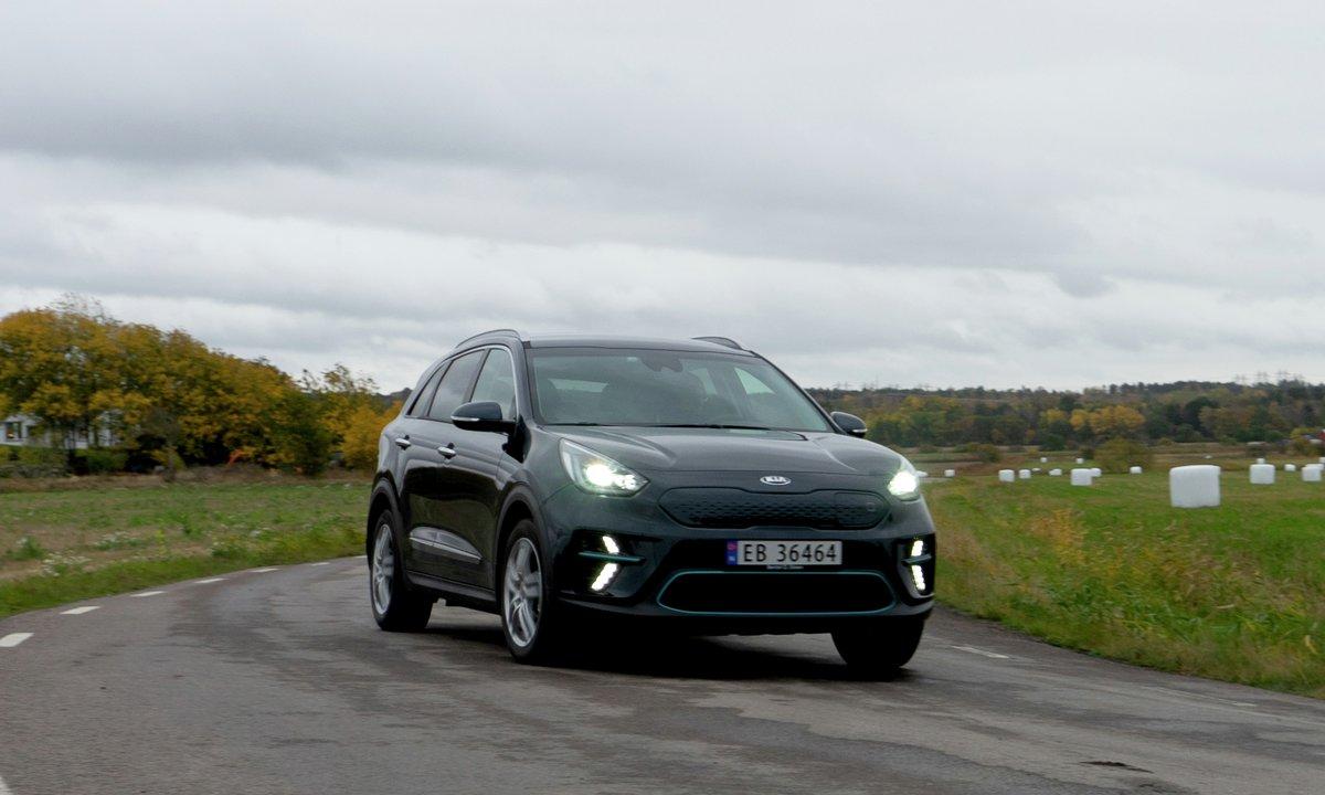 Test av Kia e-Niro: Mil etter mil på norsk og svensk motorvei