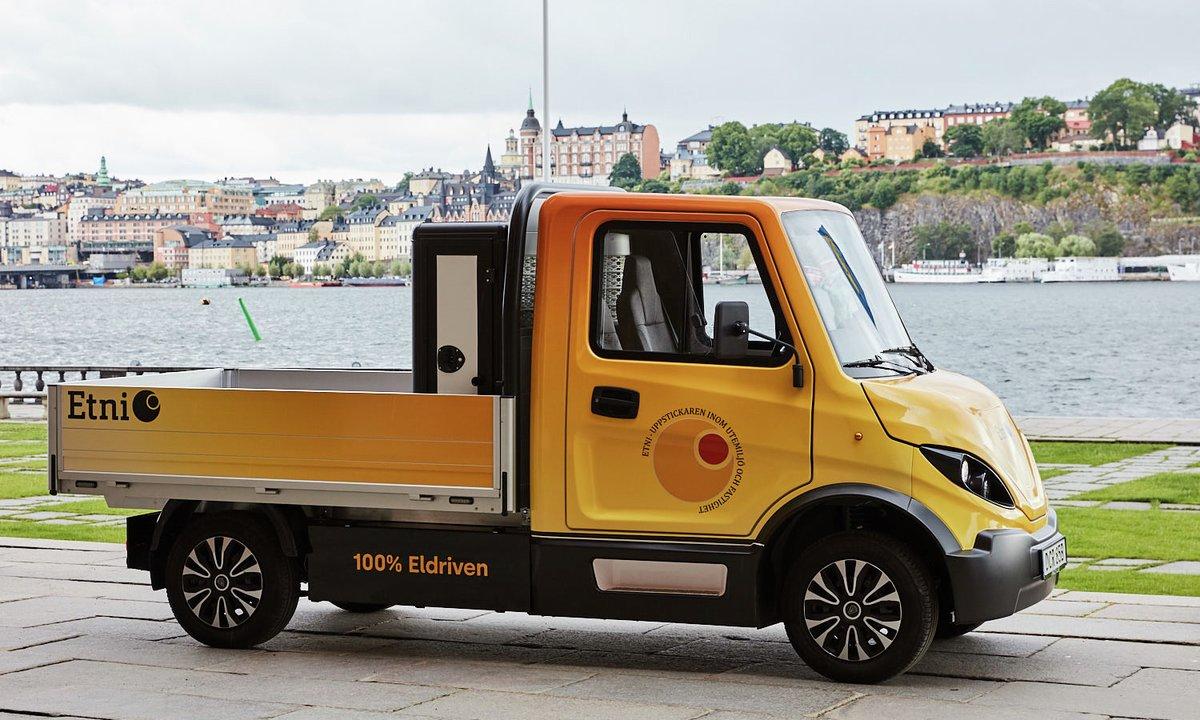 Inzile: Ny svensk, elektrisk minilastebil etablerer seg i Norge