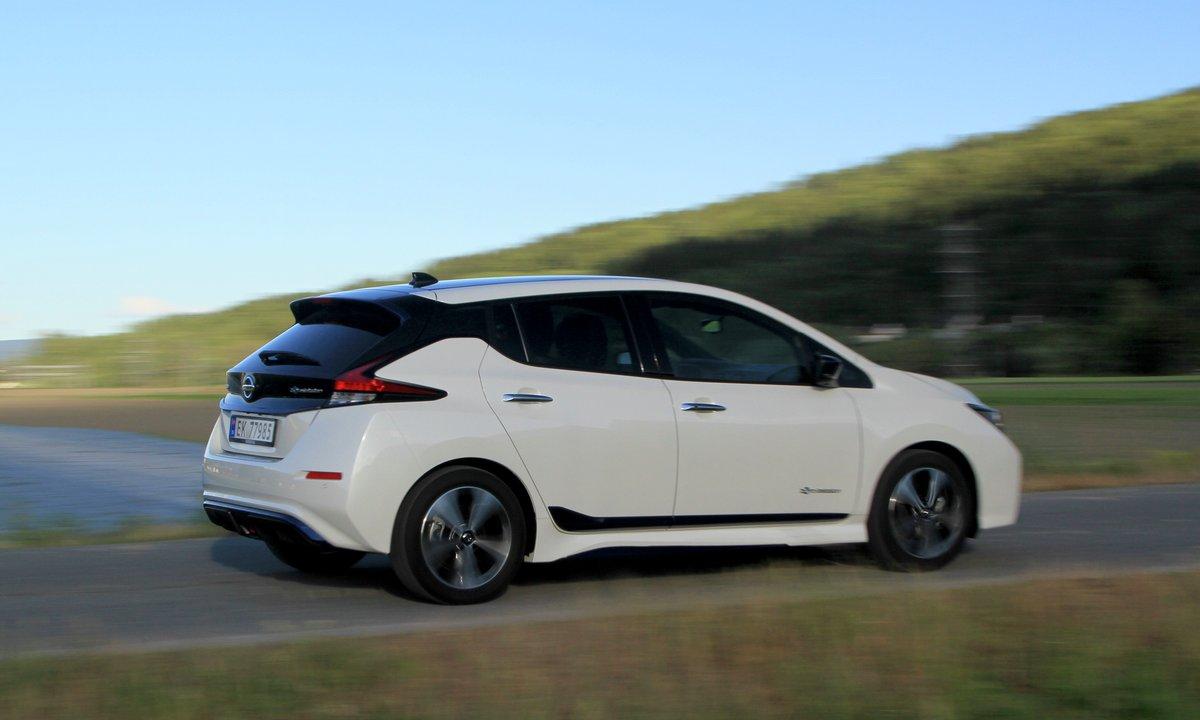 Nissan LEAF er klar med stor batteripakke