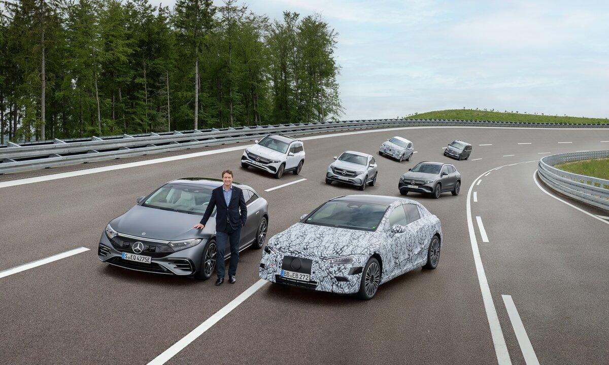 Mercedes girer opp og skal bli helelektrisk innen 2030