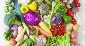 Plakater: Frukt og bær, barnehage, norsk, grønnsaker