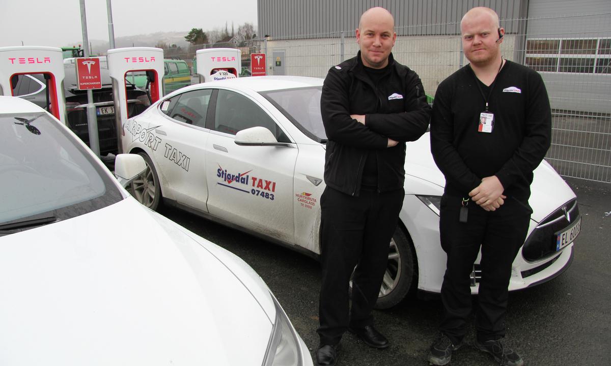 Taxinæringen holder ikke tritt med elbilutviklingen