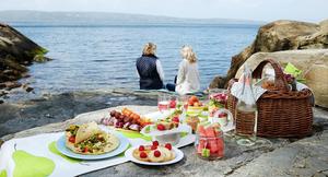 Piknik ved sjøen