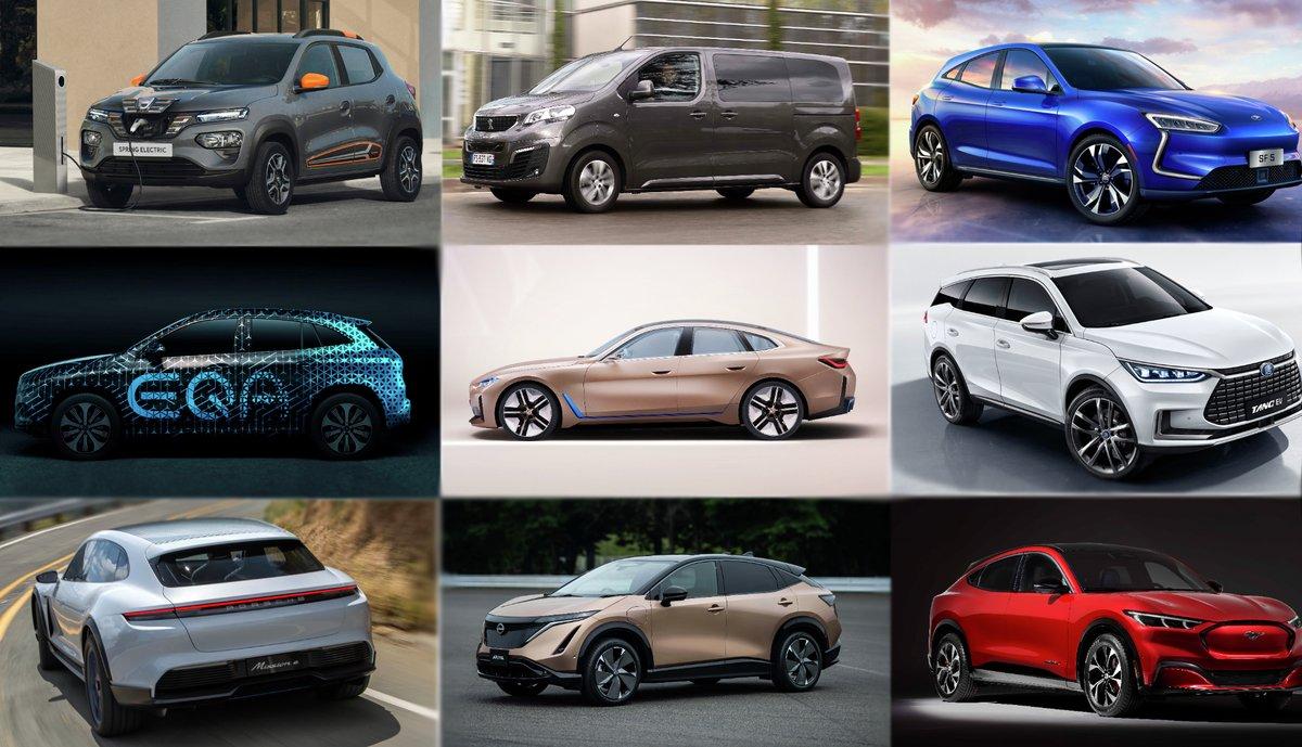21 elbilmodeller vi gleder oss til i 2021