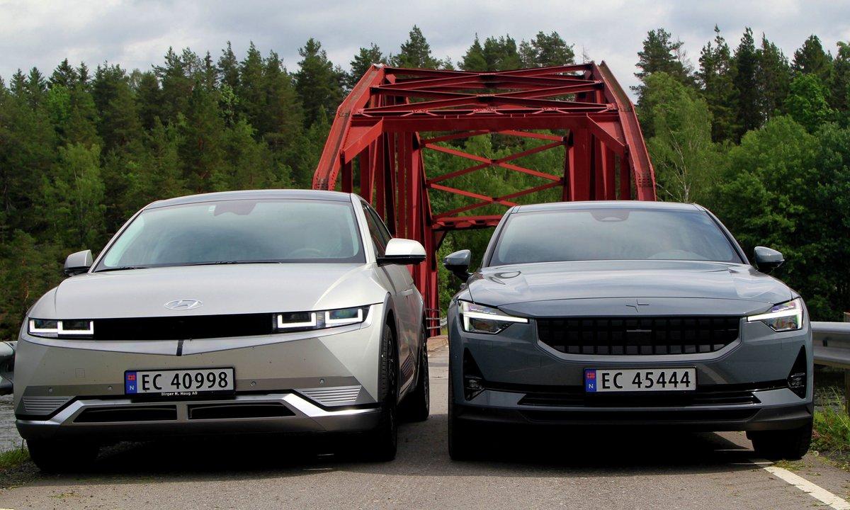 TEST-DUELL: Et par viktige ting skiller Hyundai IONIQ 5 og Polestar 2
