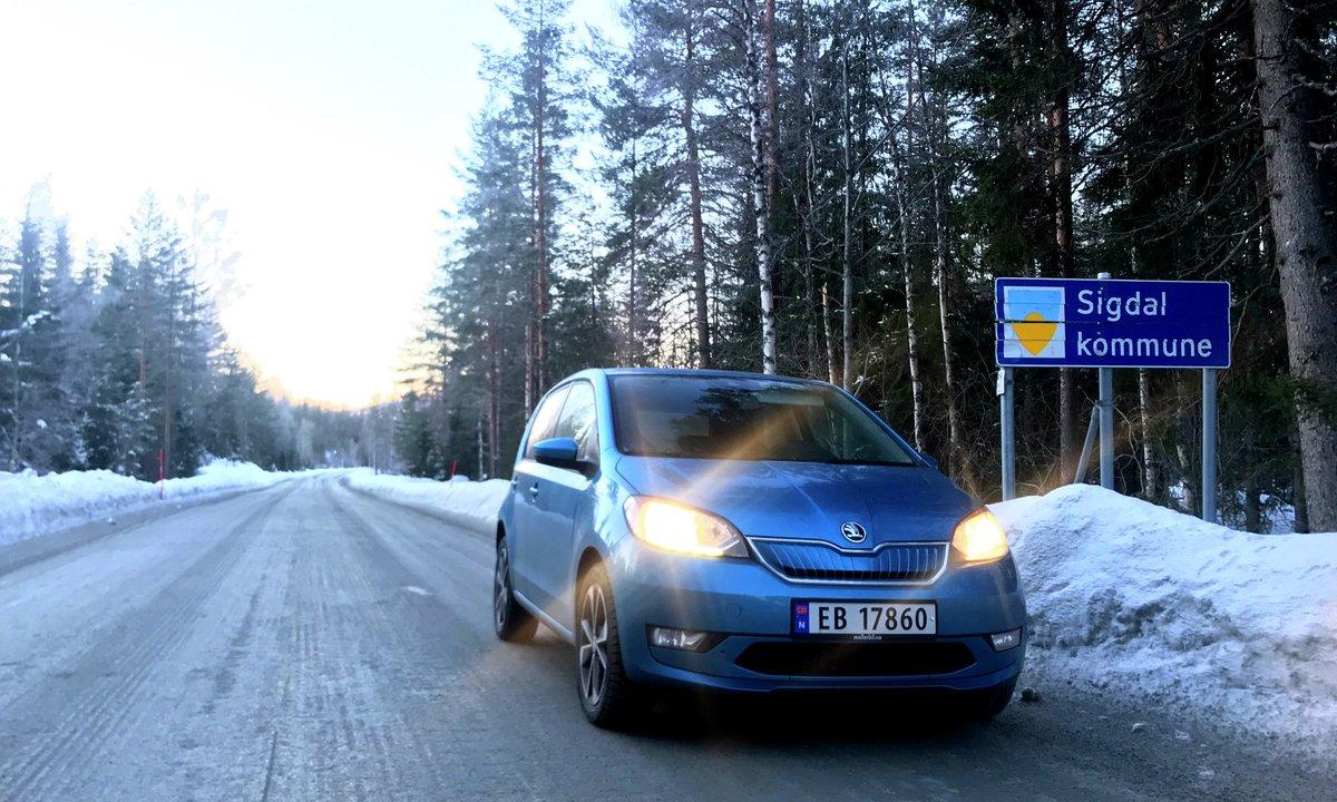 Test av Skoda Citigo-e iV: Slik fikser en enkel elbil vinterkulda