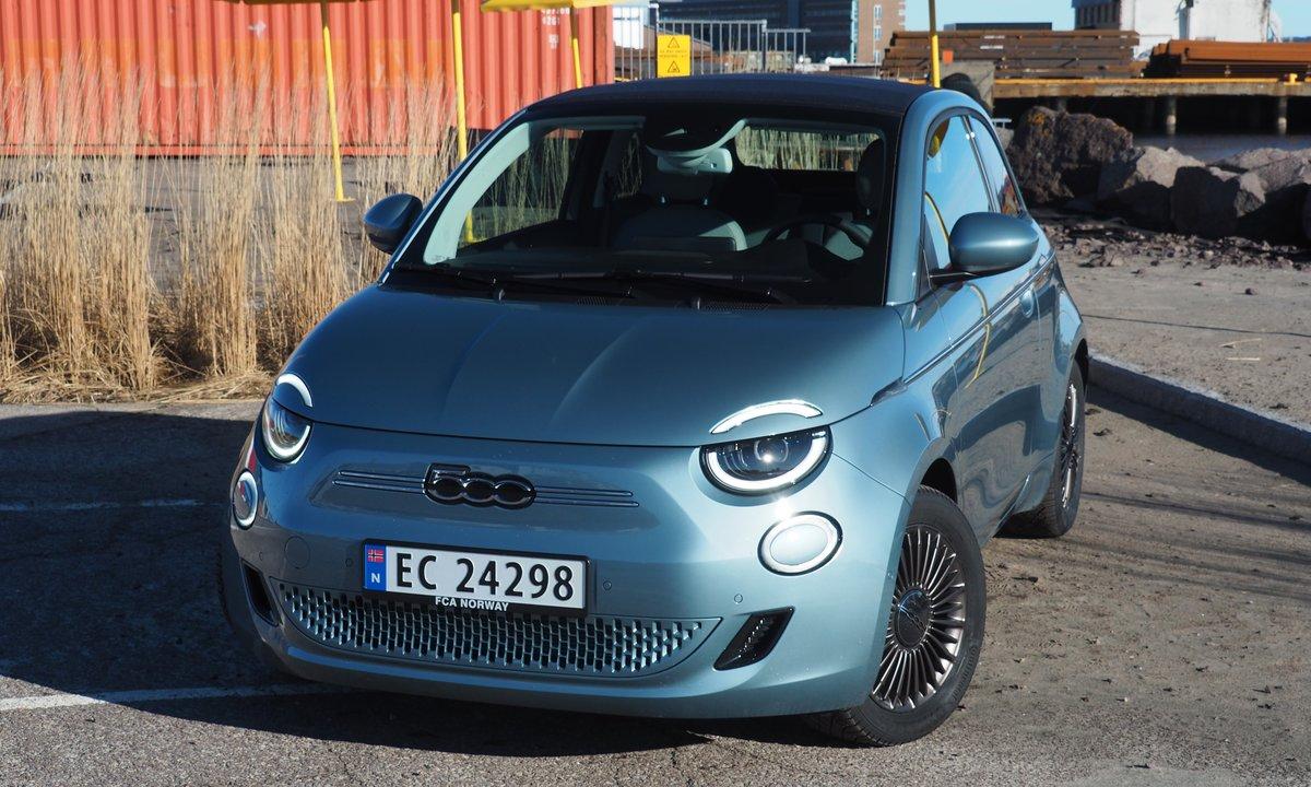Test av nye Fiat 500: Sjarmklump med rekkevidde