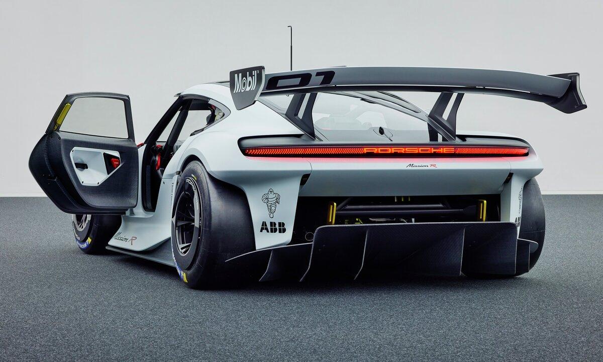 Porsches Mission R: Denne bringer elbil-teknologien et steg videre