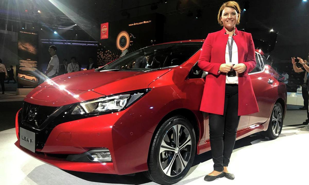 Vi er på verdenslansering av nye Nissan LEAF