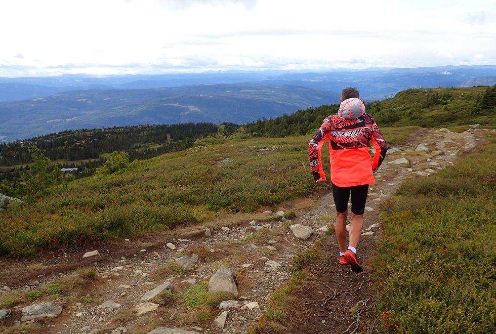 Tim Bennett ved  Ilsetra rundt Hafjelltoppen