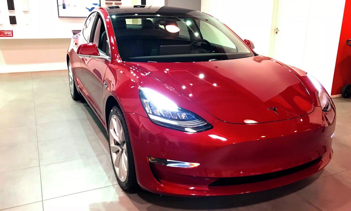 Her planlegger Tesla nye superladere   Norsk elbilforening