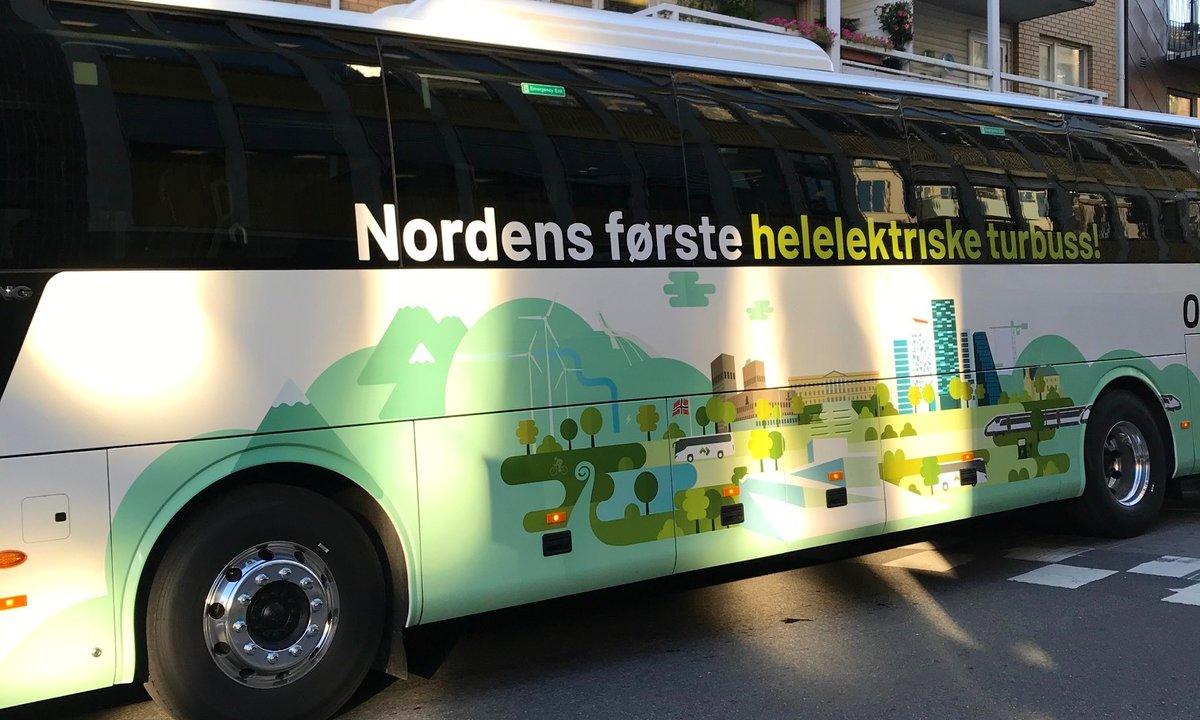 Et elektrisk skoleeksempel i Oslo