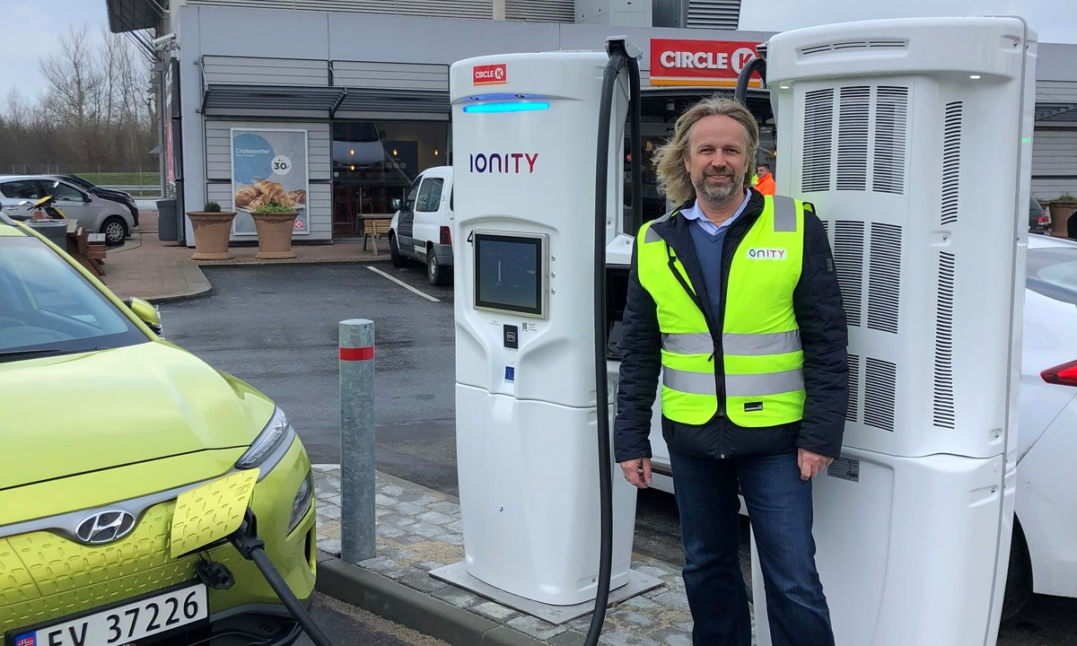 IONITY åpner første lynlader med 350 kW