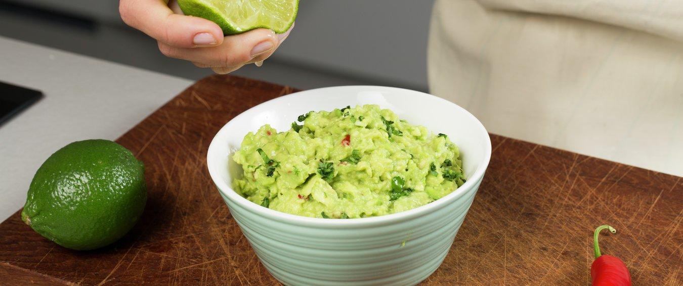 hvordan lage guacamole til taco