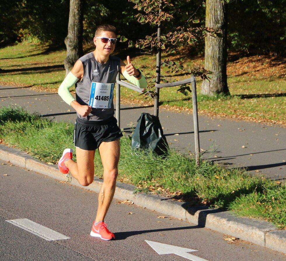 Andreas Grøgaard, Oslo Maraton 2019