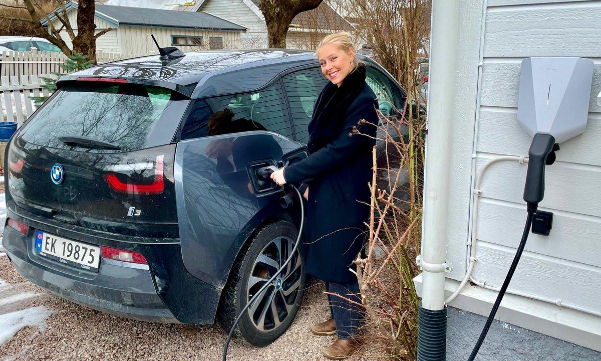 Så lite strøm bruker elbilene