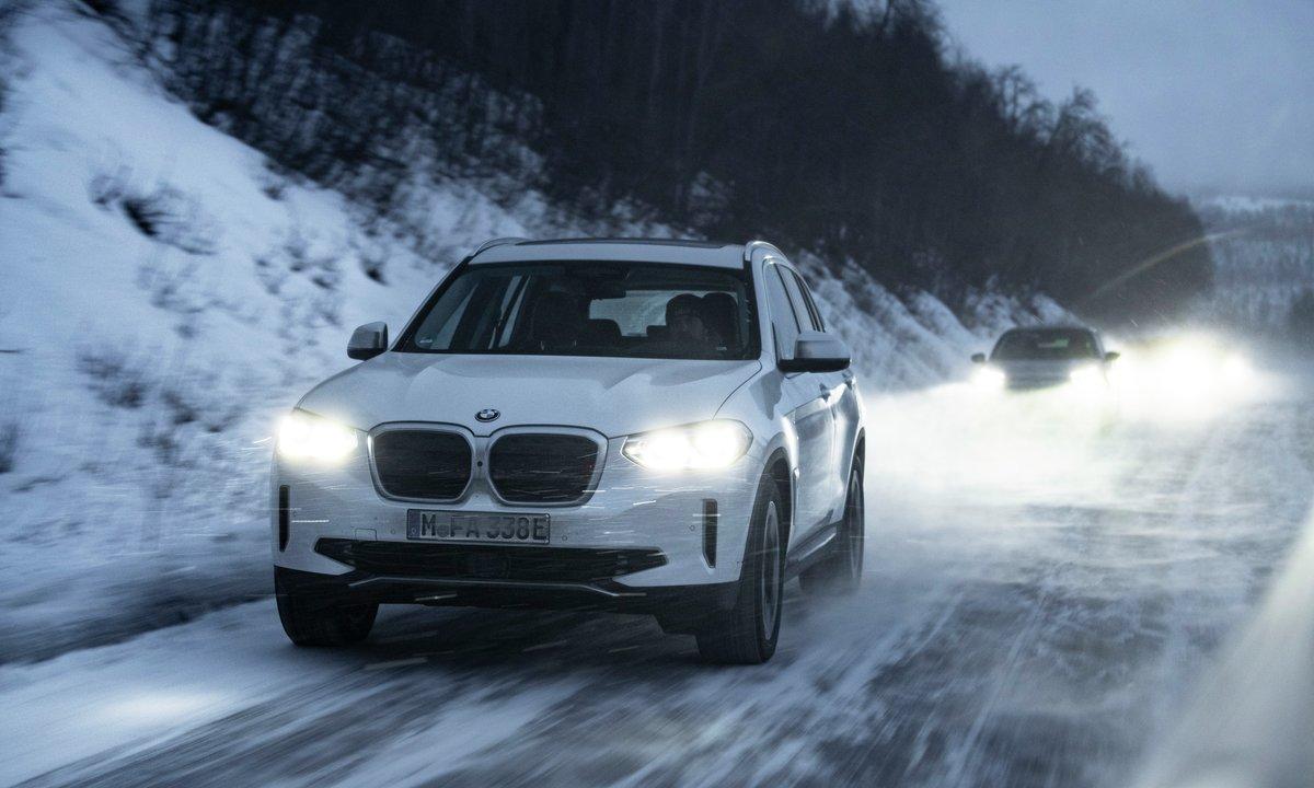 Test av BMW iX3: 310 mil uten tvil