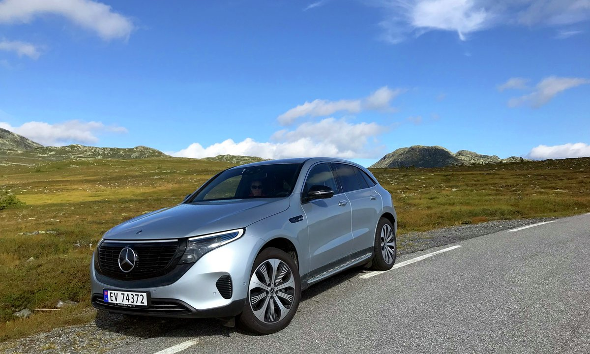 Test av mercedes eqc
