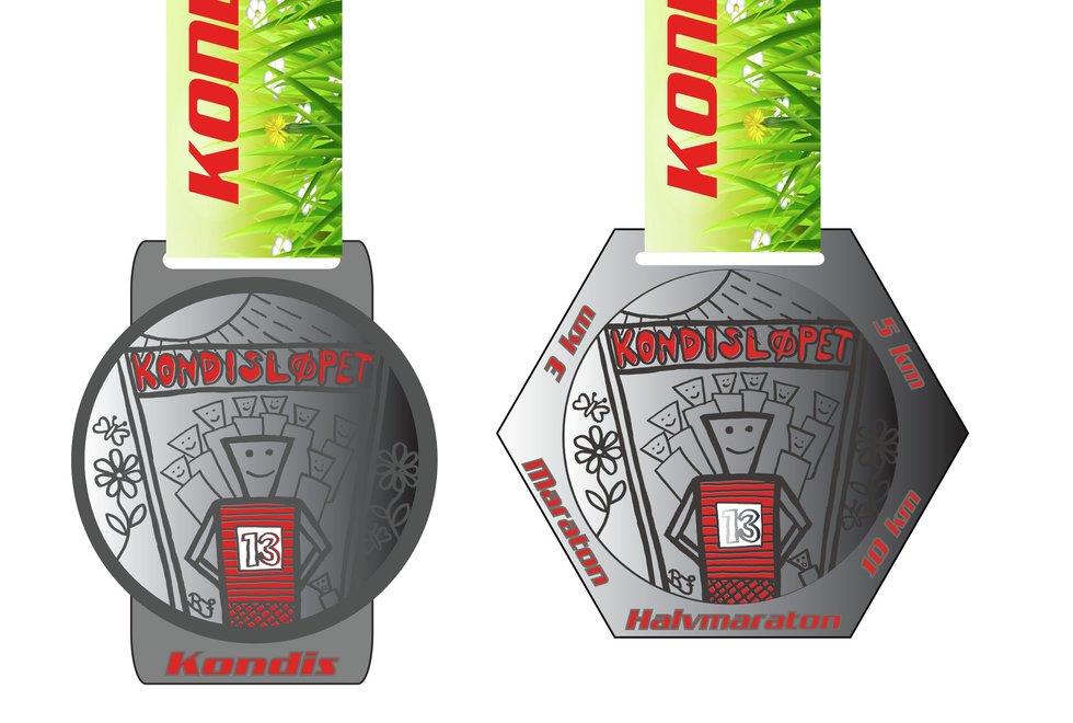 Medaljer Kondisløpet vår 2021