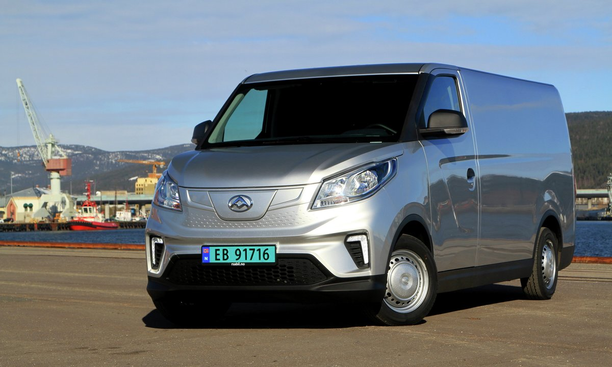 Test av Maxus e-Deliver 3: Den gjerrigste elvarebilen til nå