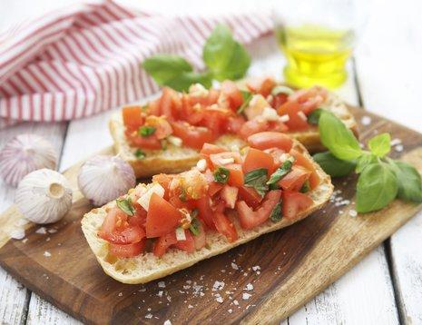 Bruschetta med tomater