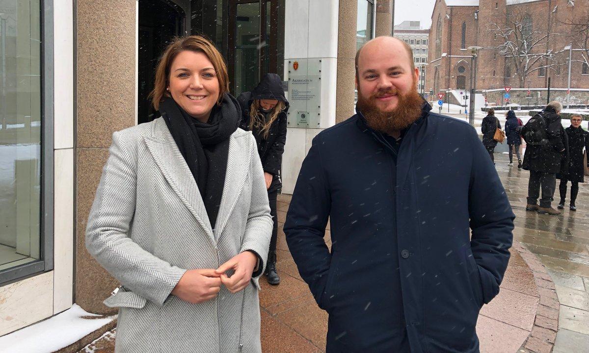 Christina Bu og Erik Lorentzen
