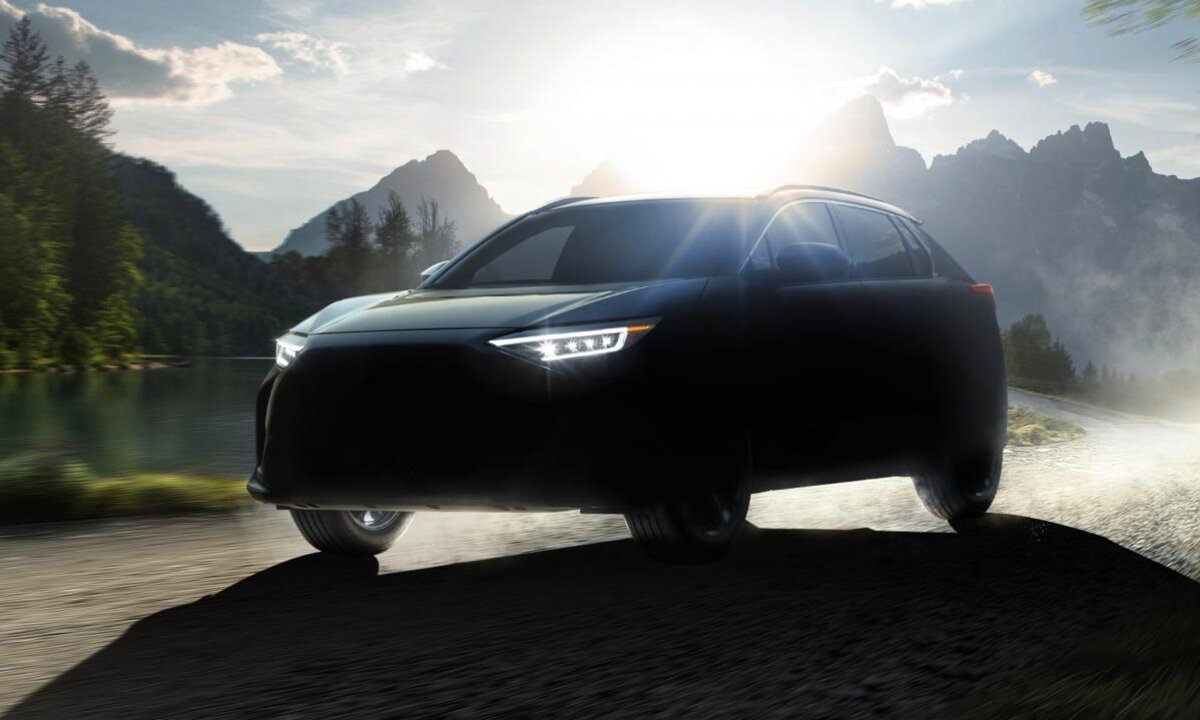 Her er Subarus nye elektriske SUV