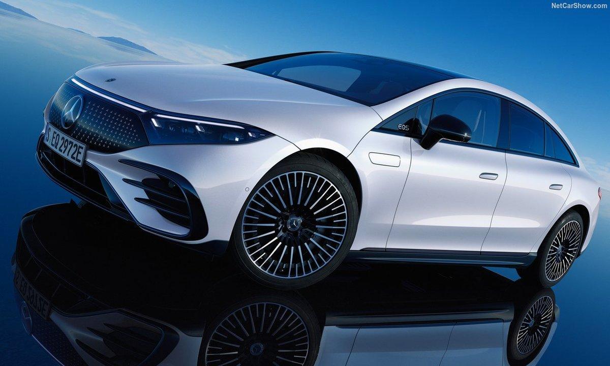 Nye Mercedes-Benz EQS er et teknologisk elbil-vidunder!
