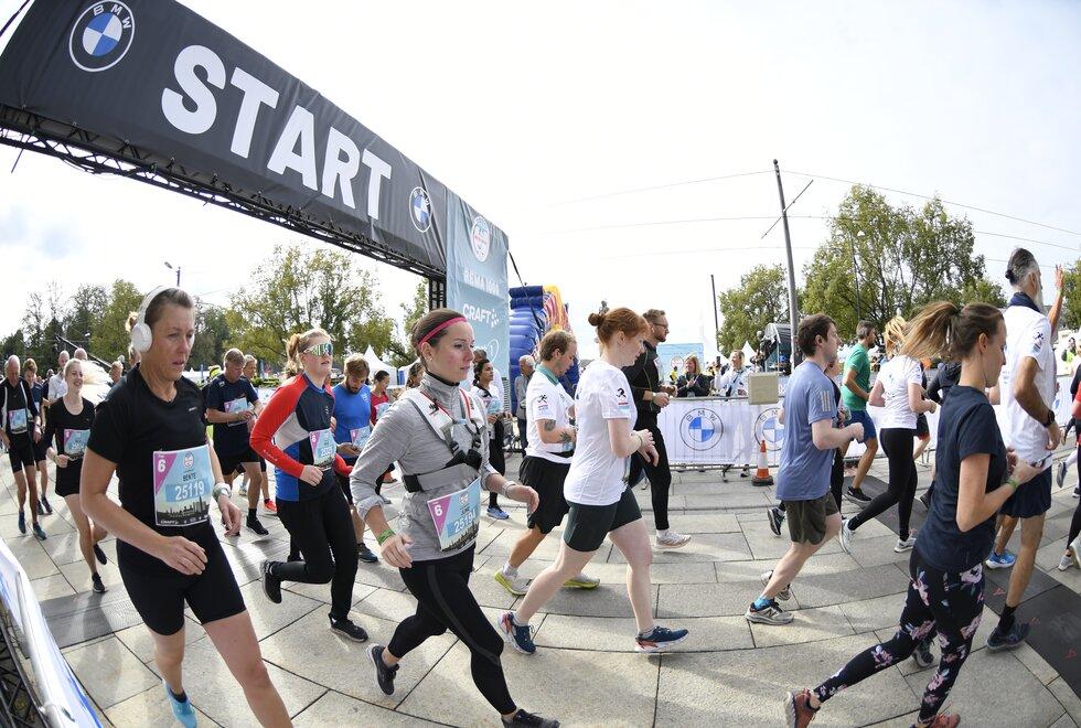 Nært samarbeid: Kondis har i flere år hatt et nært samarbeid med Oslo Maraton. (Foto: Bjørn Johannessen)