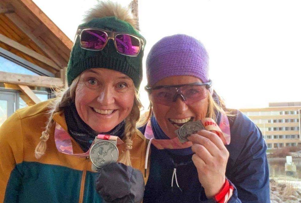 Annika Kieding (t.v) og Nina Weber