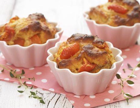 Tre tomatmuffins