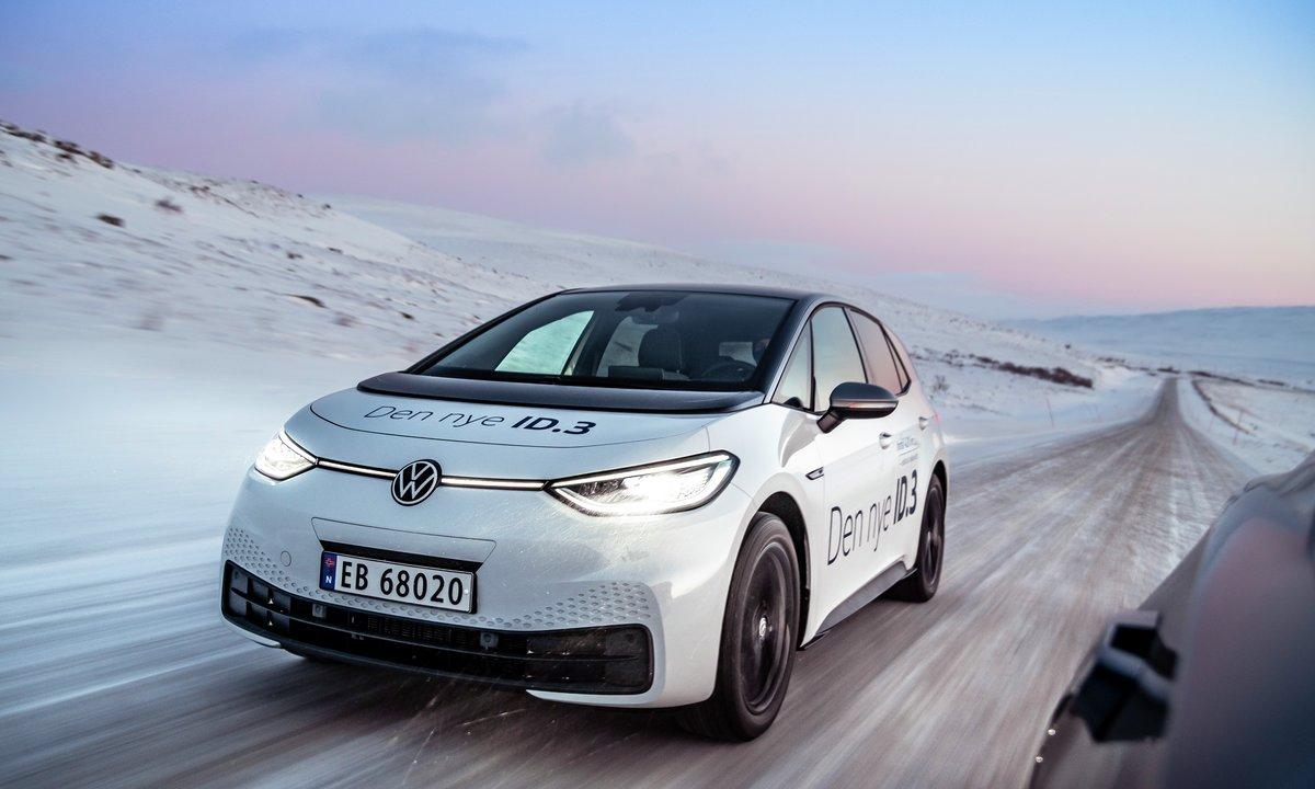 Test av Volkswagen ID.3 1st Plus: Overbevisende vinterbil