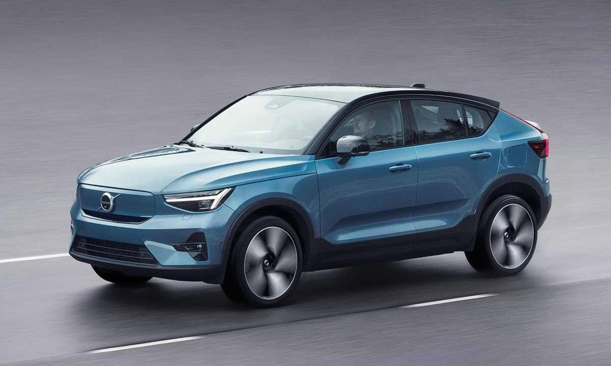 Volvo blir helelektrisk: Her er nye C40 Recharge
