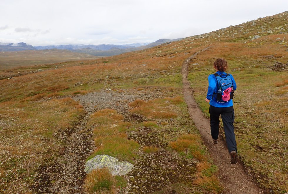 Haugseter Fjellstue i Jotunheimen og området rundt