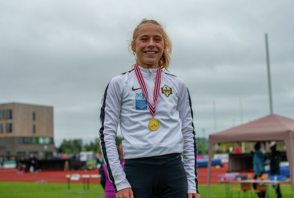 UM friidrett 2019 Jessheim - 3000m J16